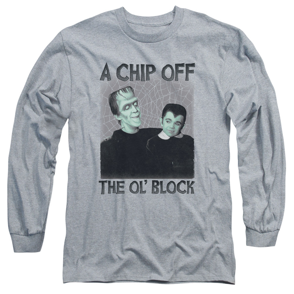 The Munsters - Chip Long Sleeve Adult 18/1