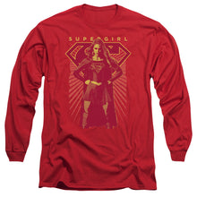 Supergirl - Ready Set Long Sleeve Adult 18/1