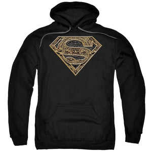 Superman - Aztec Shield Adult Pull Over Hoodie