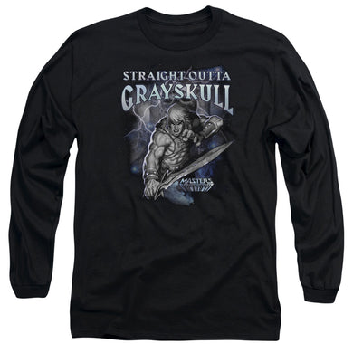Masters Of The Universe - Straight Outta Grayskull Long Sleeve Adult 18/1