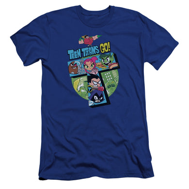 Teen Titans Go - T Premium Canvas Adult Slim Fit 30/1