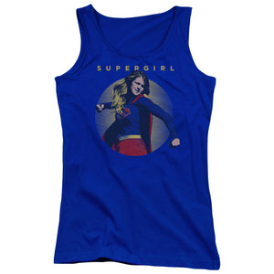 Supergirl - Classic Hero Juniors Tank Top