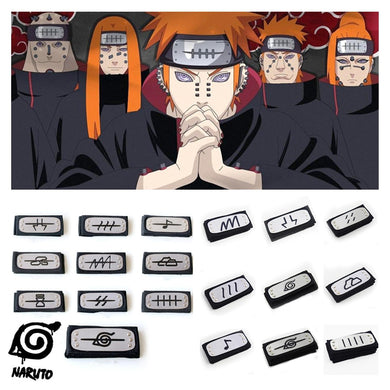 Naruto Hidden VIllage Headbands (Choose)