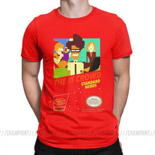 The It Crowd Nes 8 Bit Game T-Shirts - Red