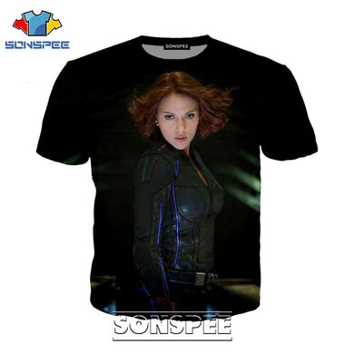 Black Widow Assorted T-shirts (Select Choice)