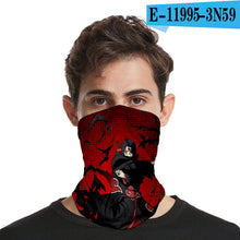 Naruto Uzumaki Sunscreen Bib/Face Mask