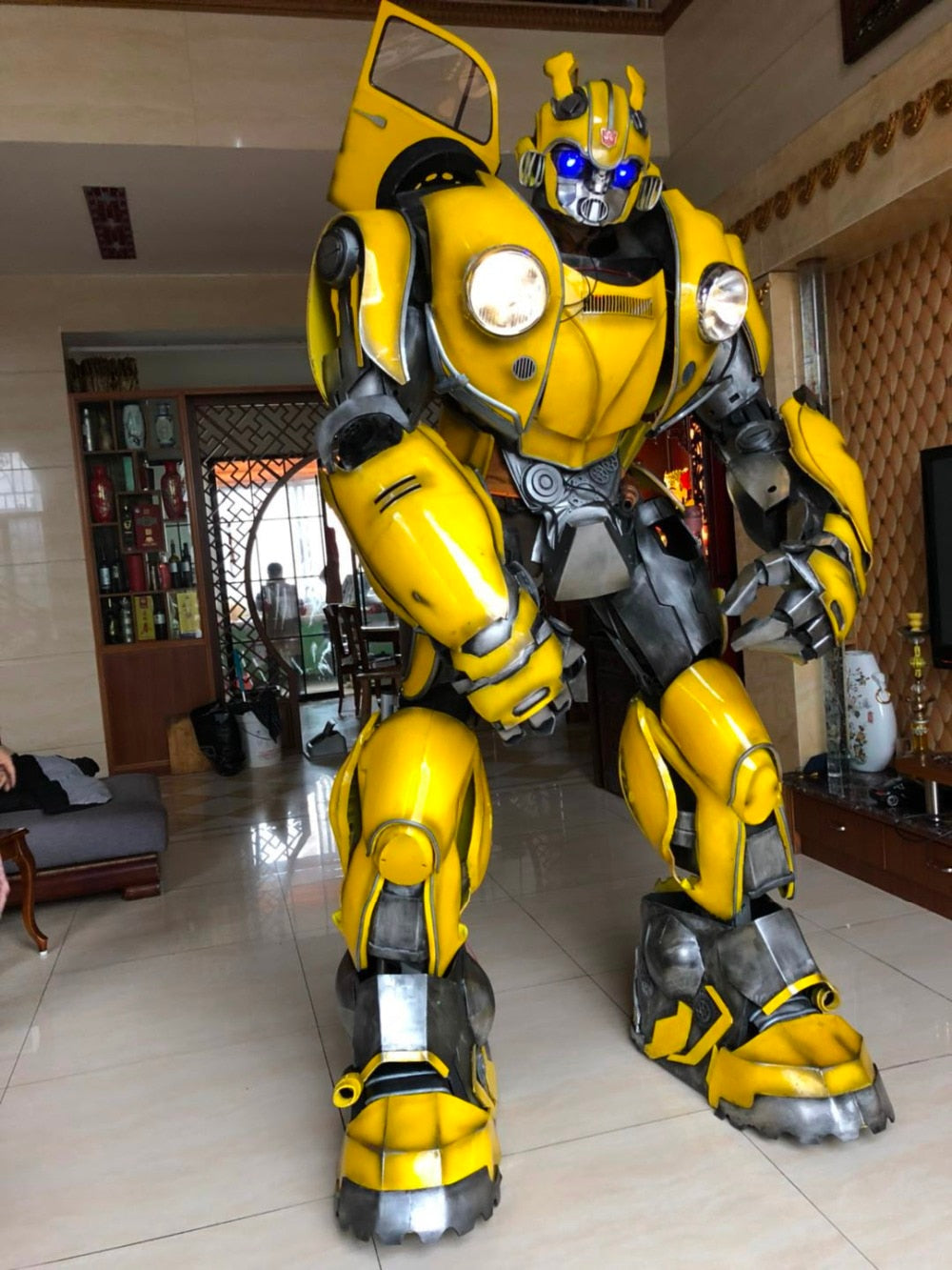 Bumblebee 1987  Wearable Armor Transformers
