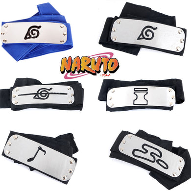 Naruto Hidden Village Headband V1.2 (Choose)
