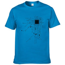 CPU Core Heart T shirt