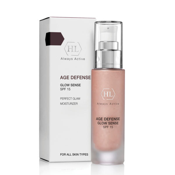 AGE DEFENSE GLOW SENSE SPF 15           50 ml.