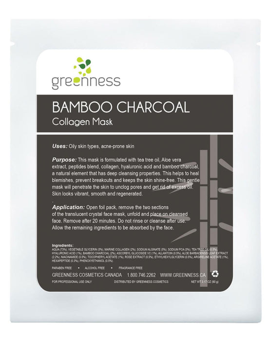 BAMBOO CHARCOAL Collagen Mask