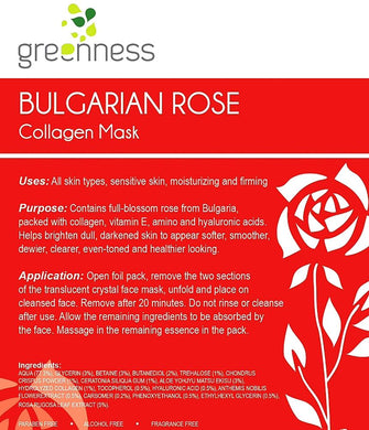 Bulgarian Rose Firming Collagen Mask