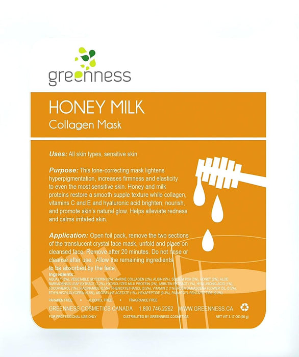 Honey Milk Collagen Mask