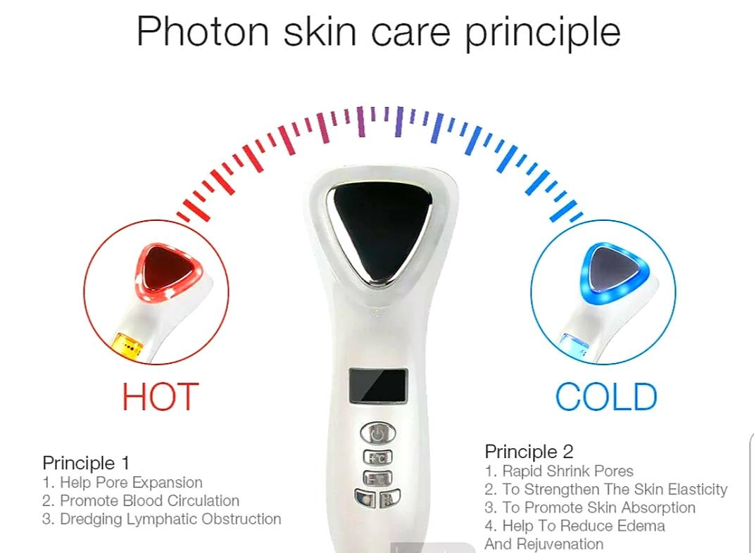 Ultrasonic-Photon Skin Care