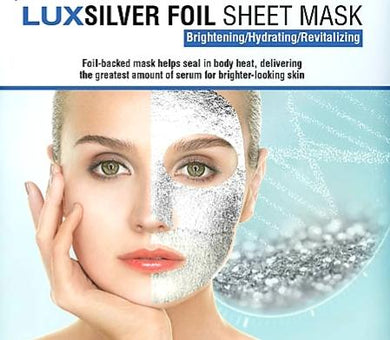 Ultimate Foil Sheet Mask - LUX Silver