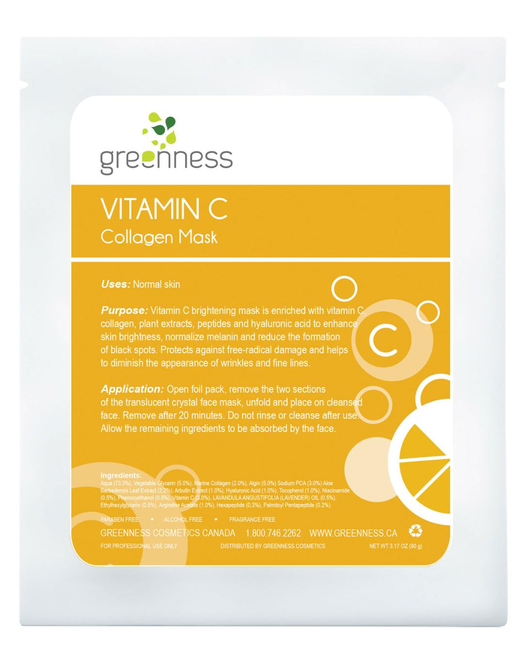 Vitamin C Collagen Mask