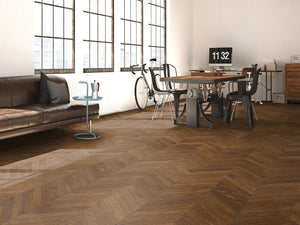 European Oak Caucacus Herringbone - Evergreen Wood INC