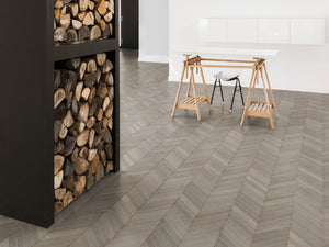 European Oak Courchevel Herringbone - Evergreen Wood INC