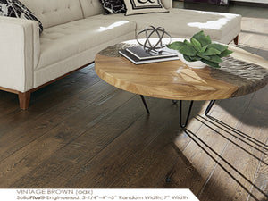 Somerset Vintage Oak - Evergreen Wood INC