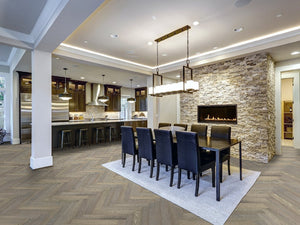 Monarch Lago Vico Herringbone - Evergreen Wood INC
