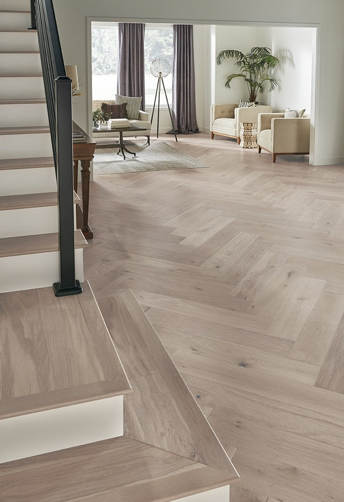 Mannington Hand-Crafted Park City Herringbone