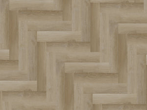 SPC Gaia Red Dulce Luna Herringbone - Evergreen Wood INC