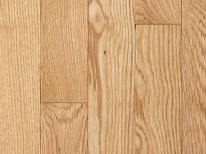 Solid Muirfield Red Oak Natural - Evergreen Wood INC