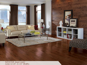 Somerset Red Oak Mocha - Evergreen Wood INC