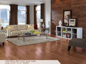 Somerset Natural Red Oak - Evergreen Wood INC