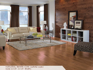 Somerset Natural White Oak - Evergreen Wood INC