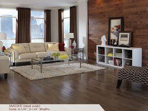 Somerset Smoke Red Oak - Evergreen Wood INC