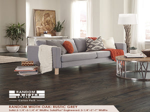Somerset Rustic Grey Oak - Evergreen Wood INC