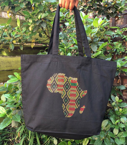 Premium Kente Tote Bag