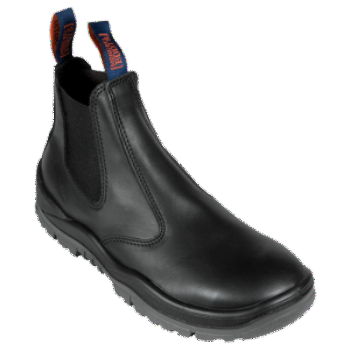 MONGREL 240020 ELASTIC SIDED SAFETY BOOT - BLACK - Workin' Gear