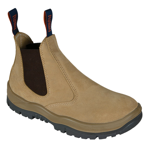 MONGREL 240040 ELASTIC SIDED SAFETY BOOT - WHEAT - Workin' Gear