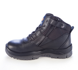 MONGREL 261020 ZIPSIDER SAFETY BOOT - BLACK - Workin' Gear