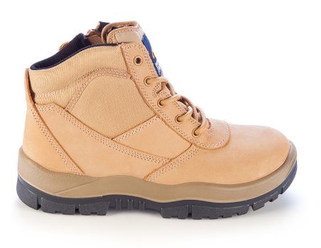 MONGREL 261050 ZIPSIDER SAFETY BOOT - WHEAT - Workin' Gear