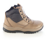 MONGREL 261060 ZIPSIDER SAFETY BOOT - STONE - Workin' Gear