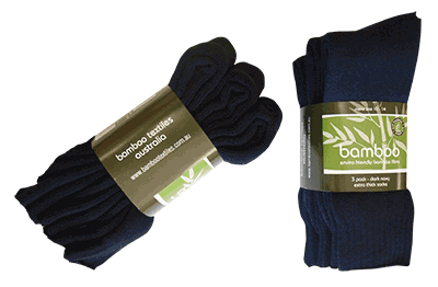 Bamboo Textiles Extra Thick Bamboo Socks (3 Pack) - Workin' Gear