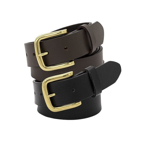 "Workin Gear - BUCKLE 3011 ""Triton' Leather Belt 35mm"