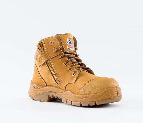 STEEL BLUE 317538 PARKES ZIP SIDE WHEAT - Workin' Gear