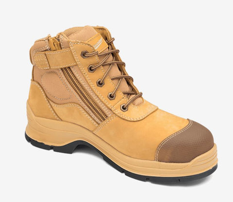 BLUNDSTONE 318 Lace up Zip Side Boot - Workin Gear