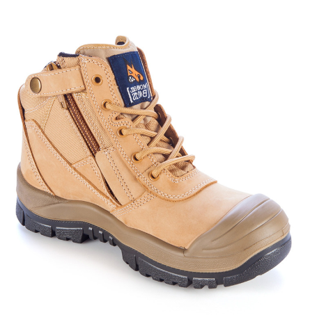 MONGREL 461050 ZIPSIDER WITH SCUFF CAP - WHEAT - Workin' Gear