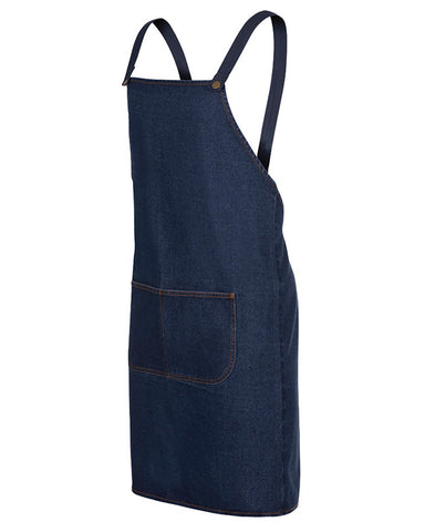 JB'S Cross Back Denim Apron - wORKIN GEAR
