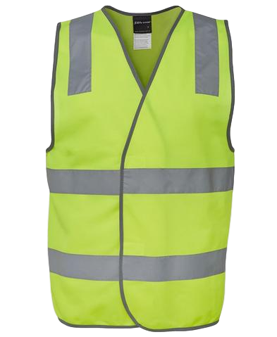 JB'S 6DNSV HIVIS D+N SAFETY VEST 2 COLOURS - Workin' Gear