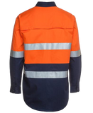 JB'S 6DNWL HIVIS TAPED L/S SHIRT LIGHTWEIGHT - Workin' Gear