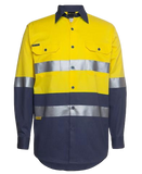 JB'S 6HLS HIVIS TAPED L/S SHIRT - Workin' Gear