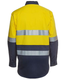 JB'S 6HLS Hi Vis Taped L/S Shirt - Workin' Gear