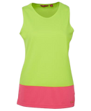 JB'S 6HTS1 HIVIS SINGLET LADIES - Workin' Gear