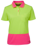 JB'S 6LHCP HiVis Polo Ladies S/S - Workin' Gear